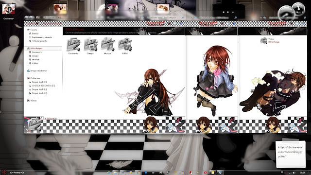 Vampire Knight Theme Win 7 by Andrea_37