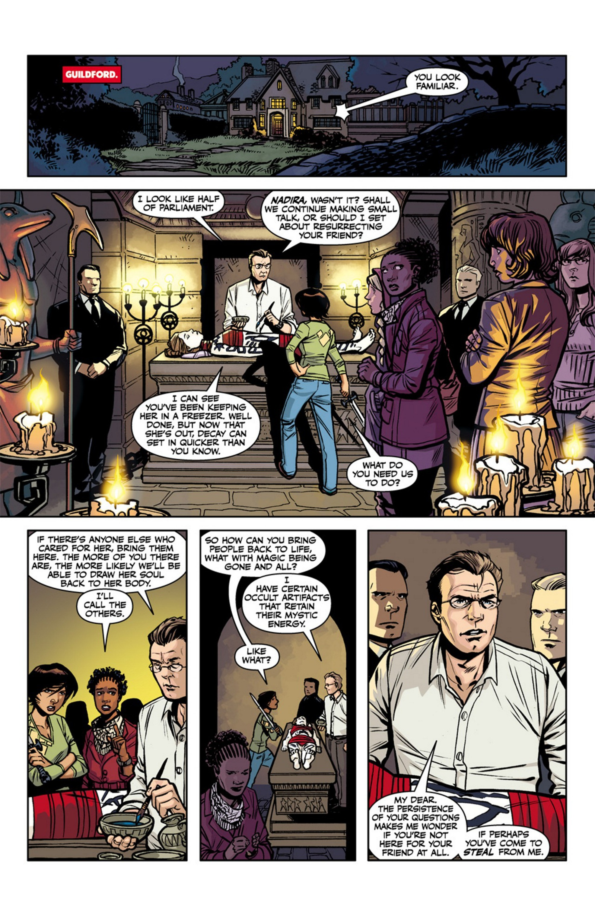 Read online Angel and Faith comic -  Issue #17 - 10