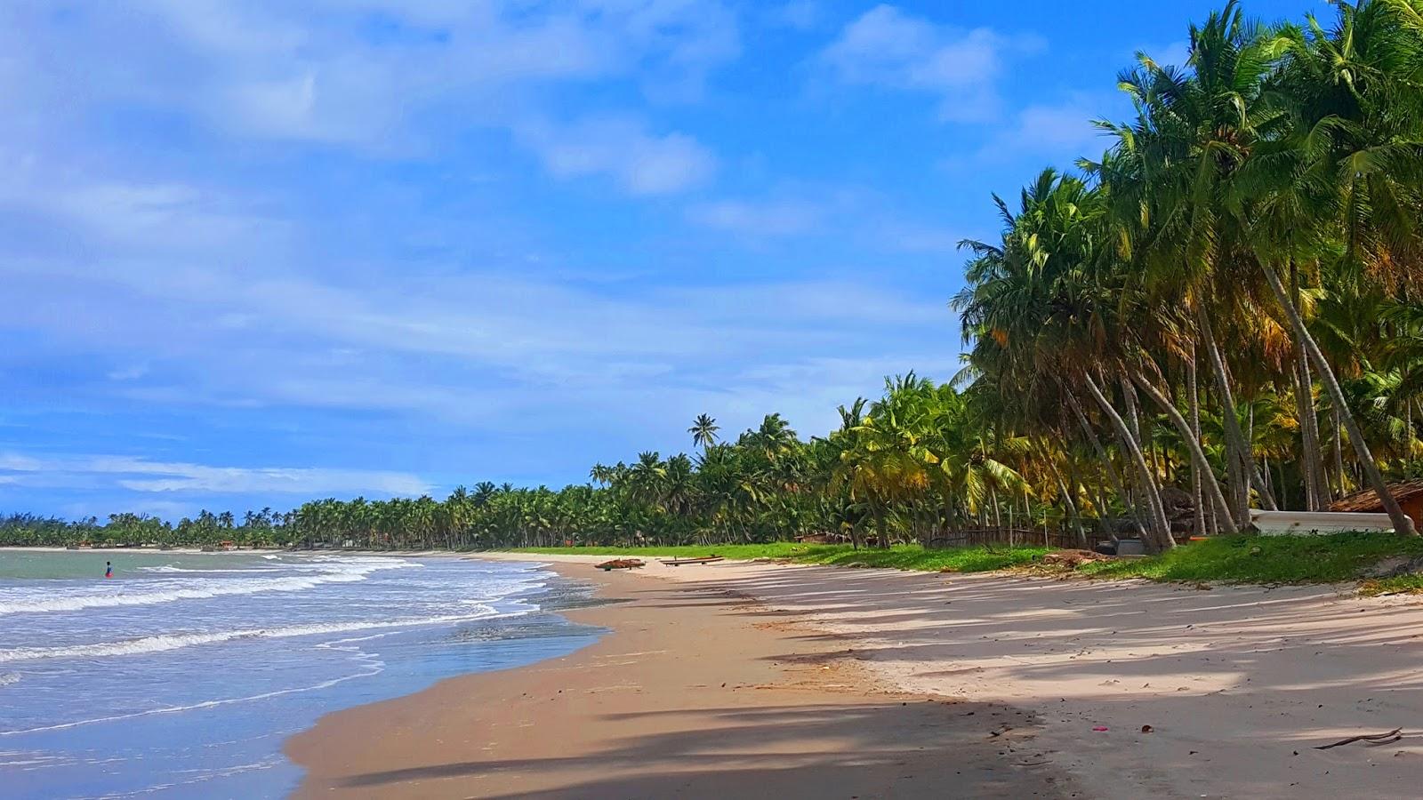 Praia de Bitingui em Japaratinga, Costa dos Corais
