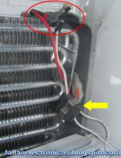 bimetal de frigorifico indurama
