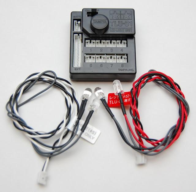 Tamiya Jeep Wrangler tlu01 led controller