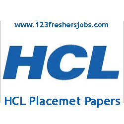 HCL Placement Papers 2015 - 2016
