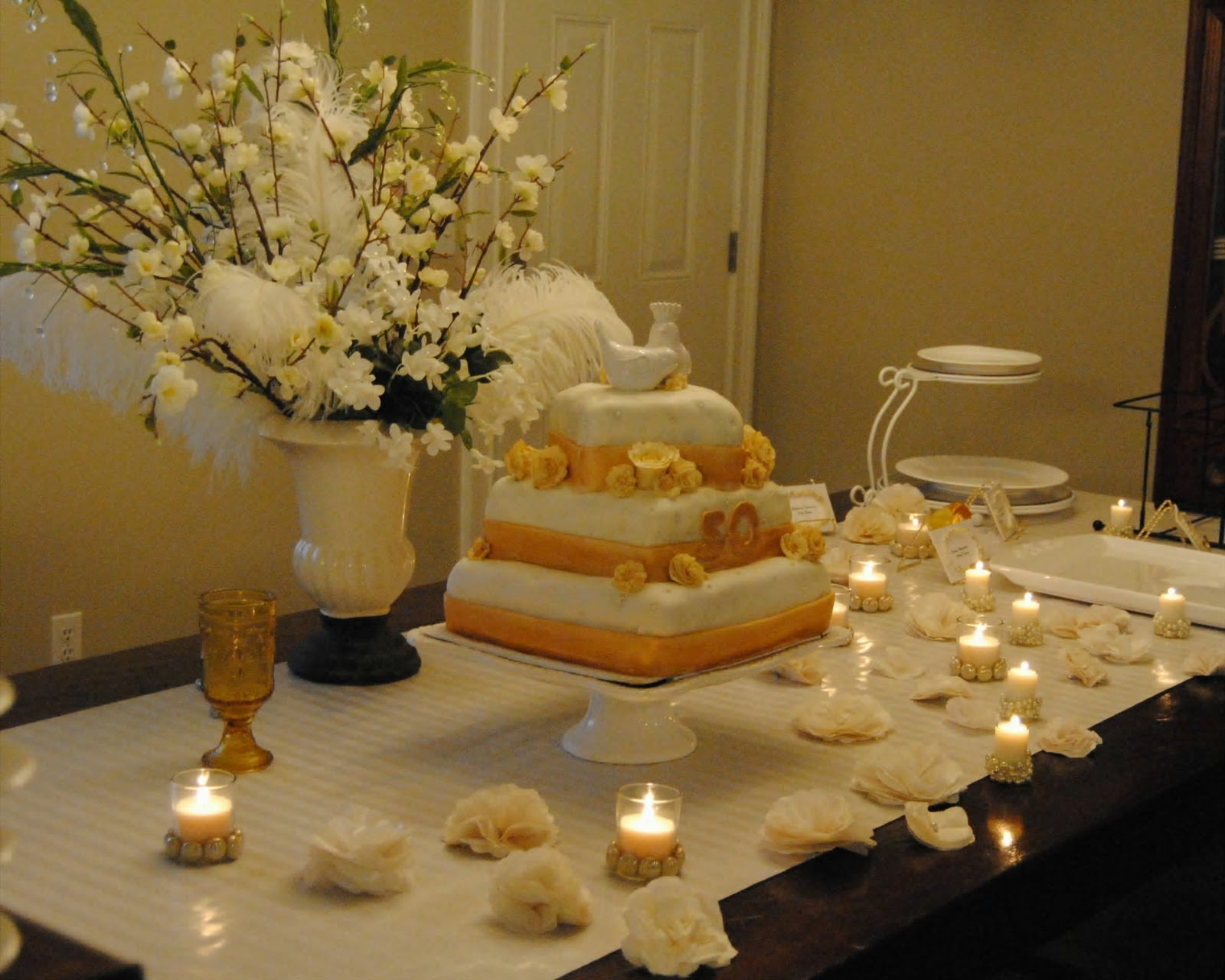Cupcakes For Breakfast?: The Sugar Free Wedding Cake- 50th