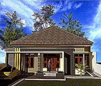 model rumah desa terbaru 1