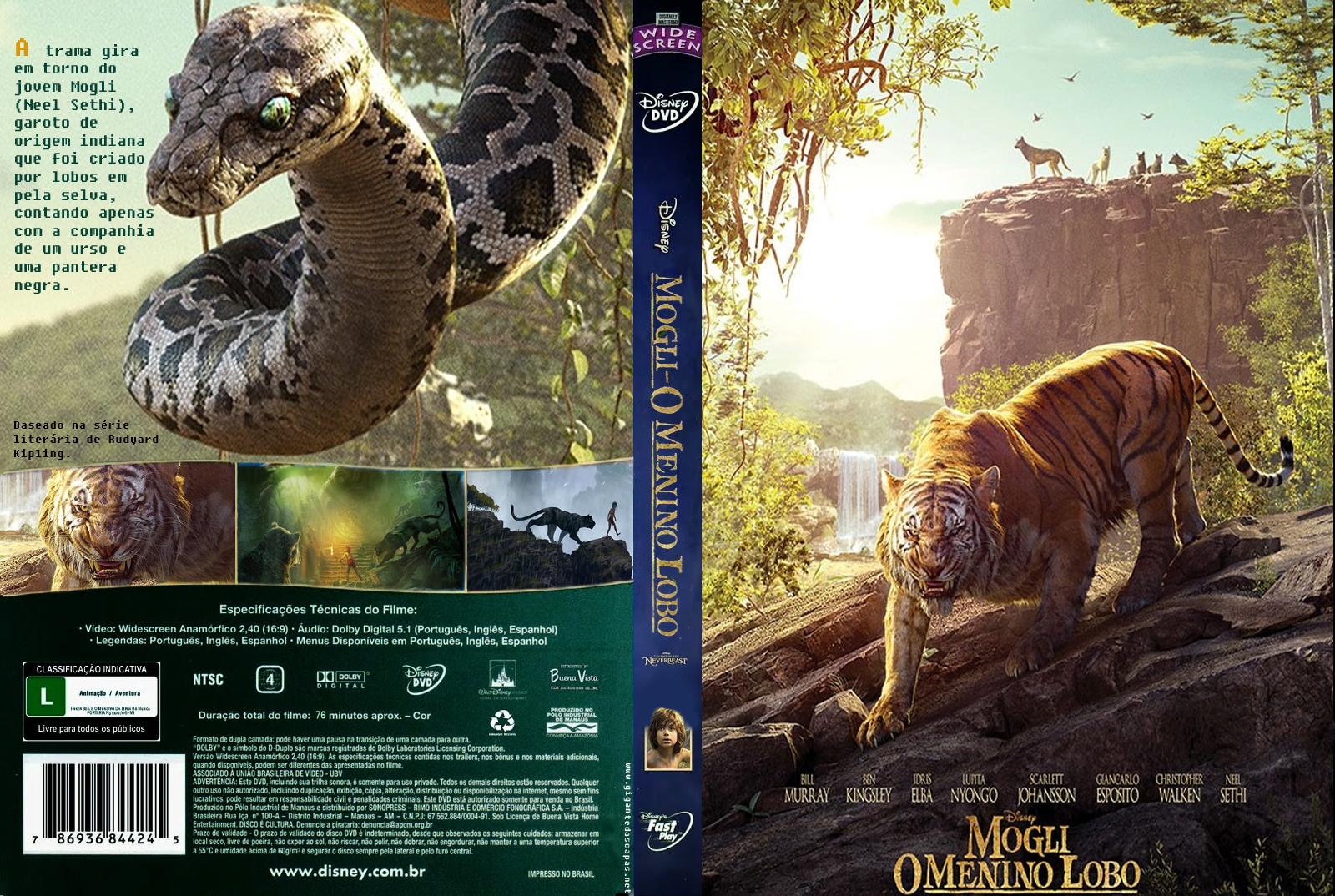 Mogli O Menino Lobo DVD-R Oficial Mogli 2B 2BO 2BMenino 2BLobo 2B