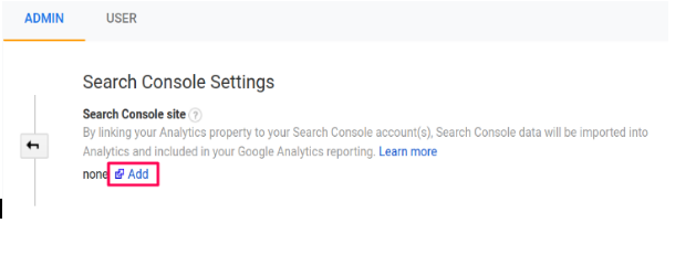 search console and GA will integrate with GSC.