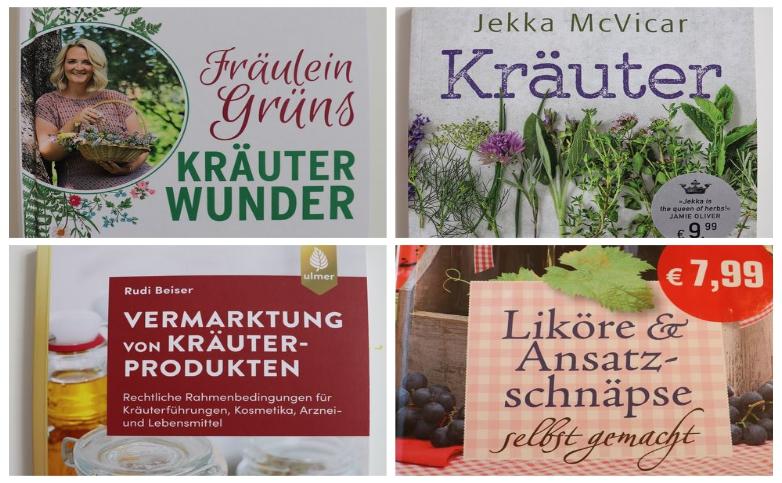 Buchvorstellungen-Kräuter-Collage-Steiermarkgarten