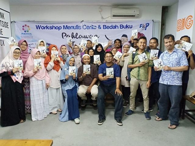 Workshop dan Bedah Buku Pahlawan Tanpa Tanda Tangan – Begini Loh Cara Buat Cerita Lucu