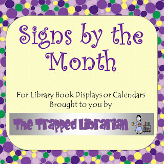 https://www.teacherspayteachers.com/Product/Signs-by-the-Month-945932