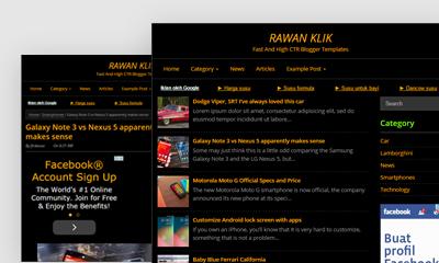 Rawan Klik Blogger Template