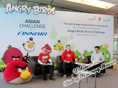 finnair angry birds asian challenge changi airport conference