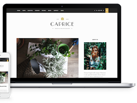 Caprice Theme - Responsive Blogger Template