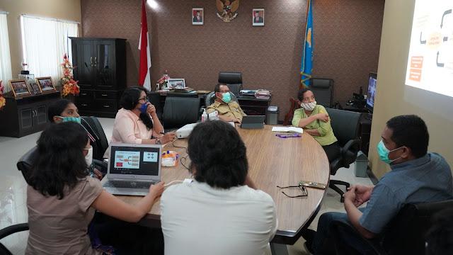 Elvianus Wairata Terima Kunjungan dan Presentasi Forum Akademia NTT