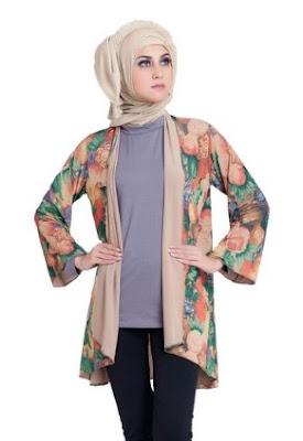 Busana gaun batik casual untuk wanita dan remaja putri