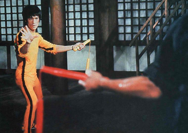Film Reviews from the Cosmic Catacombs: The Game of Death (unfinished. 1972) Review
