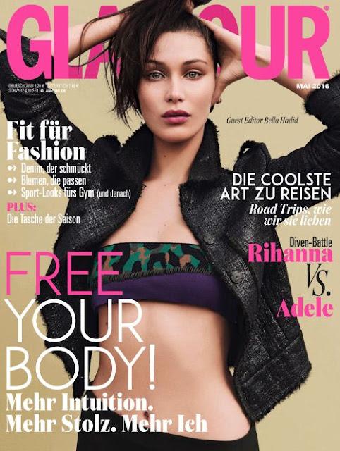 Fashion Model, @ Bella Hadid - Glamour Germany April 2016