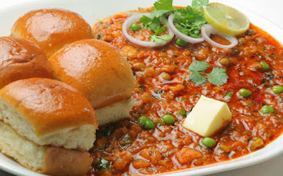 Delecious Pav Bhaji On The Mumbai Roads