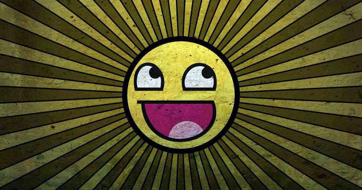 Imagenes Abstractas En Hd Para Descargar: Fondo De Pantalla Abstracto Emoticono Sonriente