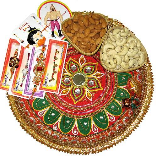 Raksha Bandhan Thali Images for Rakhi