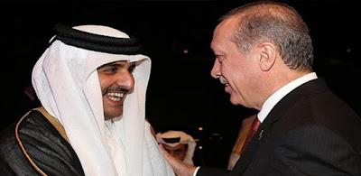 اردوغان وتميم