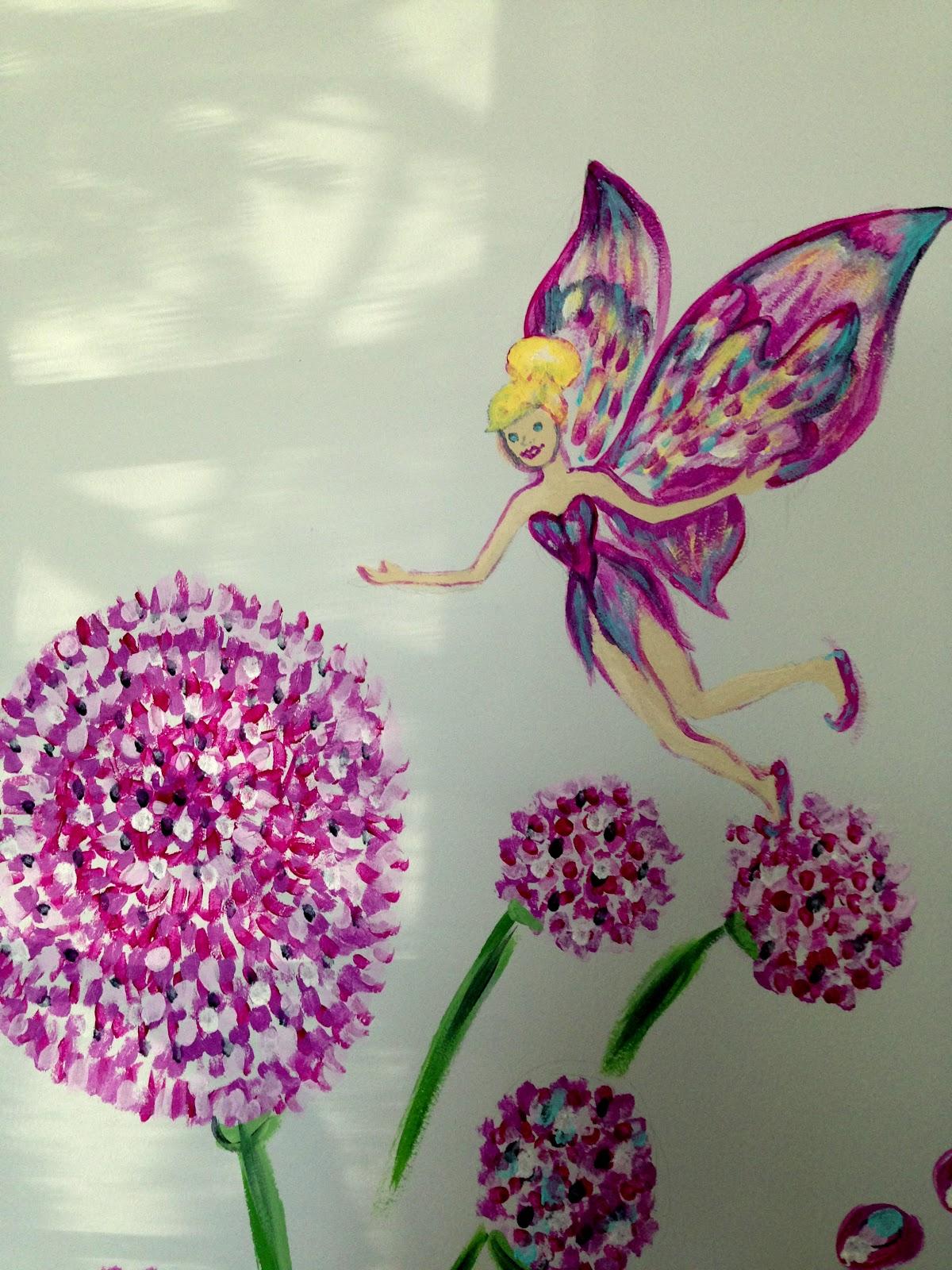 Wander In Art : Fairy Garden Mural