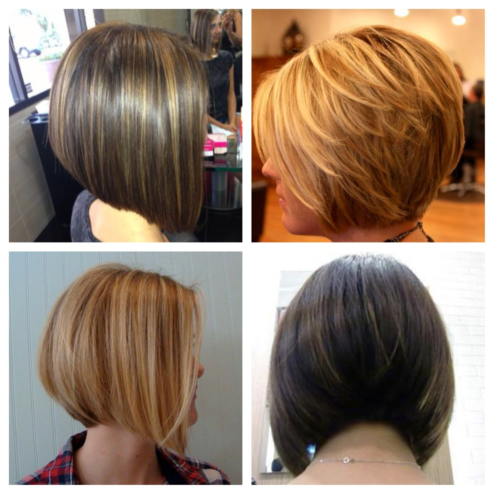 Groovy Inverted Bob Haircut Back View Hairstyle Inspiration Daily Dogsangcom