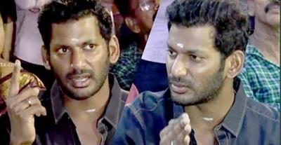 I support Kamal sir 100% as Vishal