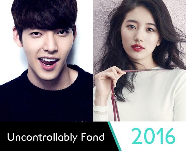 Uncontrollably Fond Upcoming Korean Drama 2016 - Kim Woo Bin & Bae Suzy