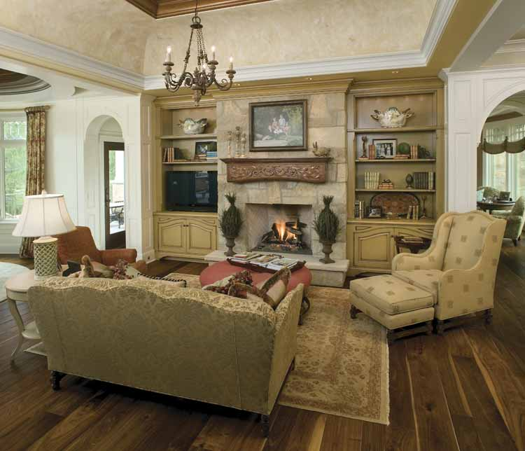 Our Living Room Over The Years: Our French Inspired Home: French Style Fireplaces And
