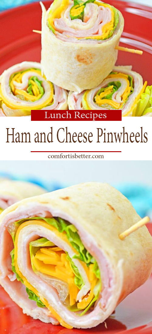 Delicious Ham and Cheese Pinwheels