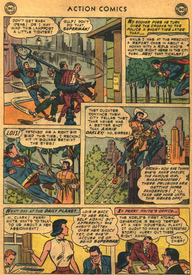 Read online Action Comics (1938) comic -  Issue #198 - 9