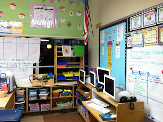 photo of classroom photo Teaching With Style organization 3rd grade math manipulatives