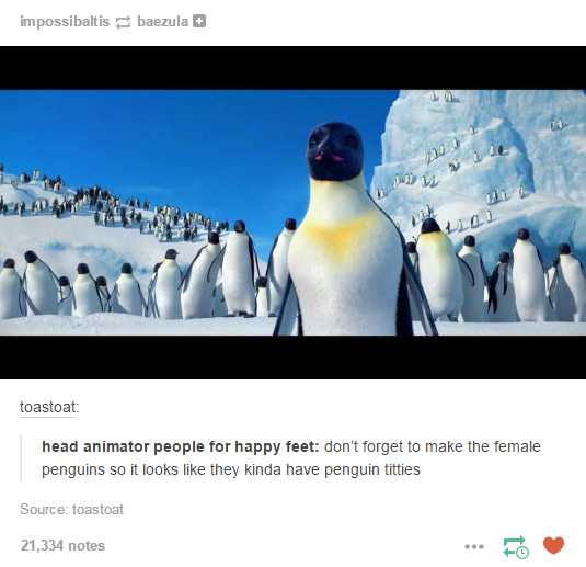 happy feet funny quote