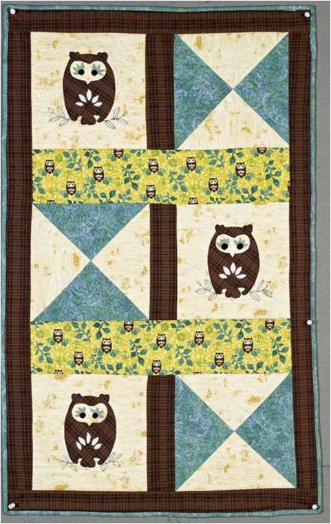 Quilt Inspiration: Free Pattern Day: Owls ! : owl quilts patterns - Adamdwight.com