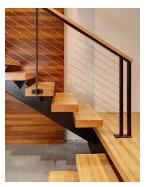 contoh tangga rumah minimalis