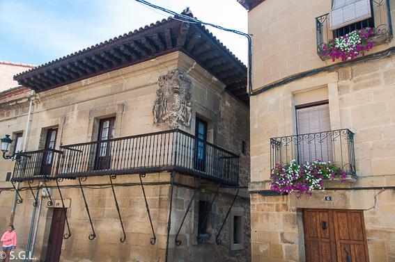 """Casa palacio Navarrete Ladrón de Guevara """"Casa de los Hierros"""". Elciego"""