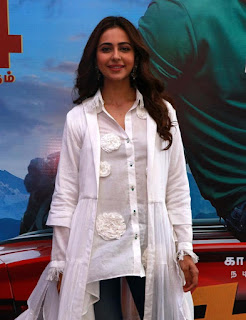 Rakul Preet at Dev Movie Press Meet In Chennai