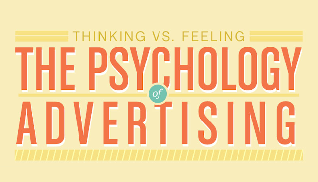 Thinking vs Feeling: The Psychology of Advertising #infographic