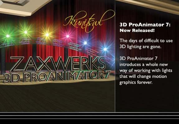 Zaxwerks ProAnimator Plugin After Effects | Software Store