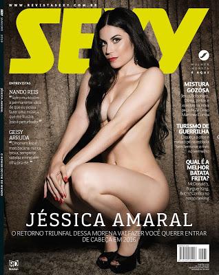 Revista Sexy: Jessica Amaral Janeiro 2016