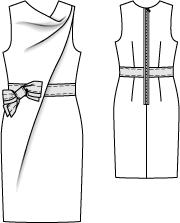Serendipity Id Vestido Com Desenho Tecnico