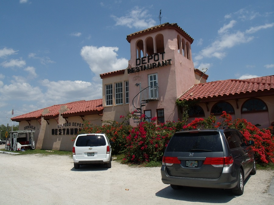 Antigua estación en Everglades City