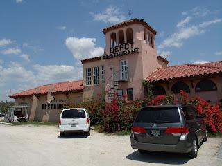 Antigua estación en Everglades City