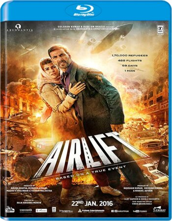 Airlift (2016) Hindi 720p BluRay x264 900MB ESubs Movie Download