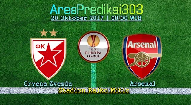 Prediksi Jitu Crvena vs Arsenal 20 Oktober 2017
