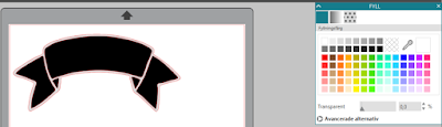 Silhouette Studio - editera en design med färg