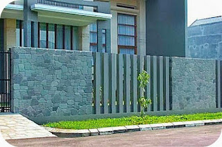 The Latest Fence Model Modern Minimalist House