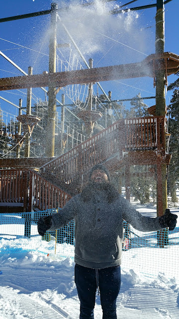 Richie Kolar Trujillo Lake Tahoe Christmas