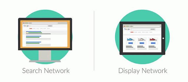 Sự khác nhau giữa Google Search Network vs Quảng cáo hiển thị là gì?
