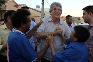 """Ricardo assina ordem de serviço para adutoras do """"TransParaíba"""""""